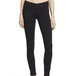 Rag & Bone Black Plush Legging Jeans